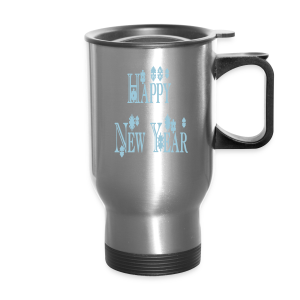 Happy New Year 2014 - Travel Mug