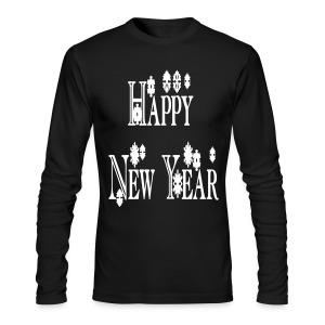 Happy New Year 2014 - Men's Long Sleeve T-Shirt by Next Level