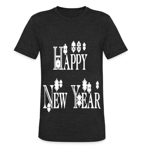 Happy New Year 2014 - Unisex Tri-Blend T-Shirt