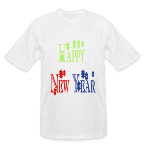 Happy New Year 2014 - Men's Tall T-Shirt