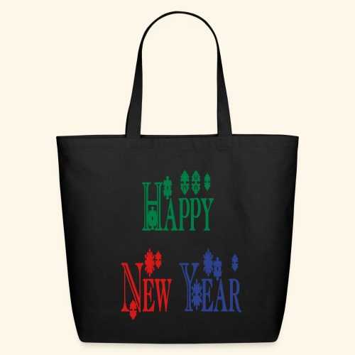 Happy New Year 2014 - Eco-Friendly Cotton Tote