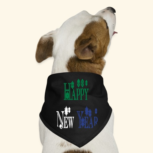 Happy New Year 2014 - Dog Bandana