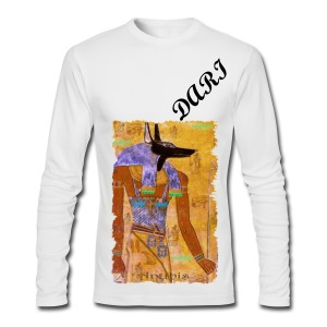 Dariuose' Anubis Long Sleeve - Men's Long Sleeve T-Shirt by Next Level