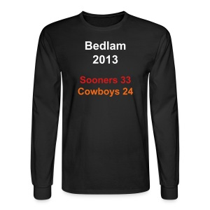 Bedlam 2013 Blk Long Sleeve - Men's Long Sleeve T-Shirt