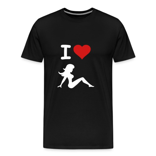 I Heart Hookers - Men's Premium T-Shirt