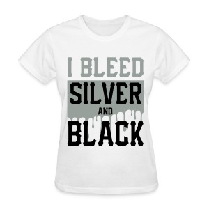 Silver n Black 3 - Women's T-Shirt