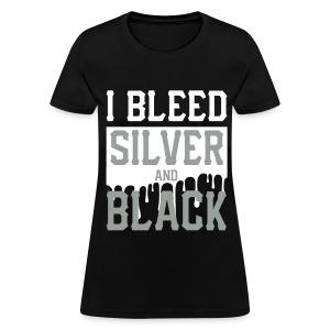 Silver n Black 2 - Women's T-Shirt