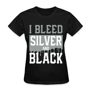 Silver n Black  - Women's T-Shirt