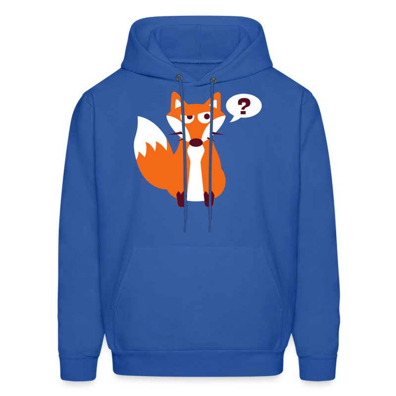 What Does The Fox Say Hoodie - Men's Hoodie