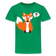 Kids' Shirts ~ Kids' Premium T-Shirt ~ What Does The Fox Say Kids Tee