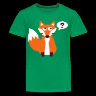Kids' Shirts ~ Kids' Premium T-Shirt ~ What Does The Fox Say Kids Tee
