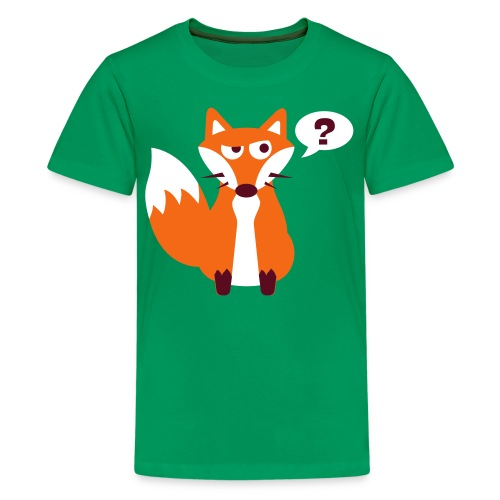 What Does The Fox Say Kids Tee - Kids' Premium T-Shirt