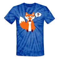 T-Shirts ~ Unisex Tie Dye T-Shirt ~ What Does The Fox Say Tie Dye Tee