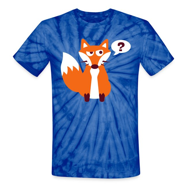What Does The Fox Say Tie Dye Tee