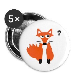 What Does The Fox Say Buttons - Large Buttons