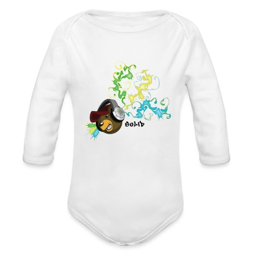 SolidBear - Organic Long Sleeve Baby Bodysuit
