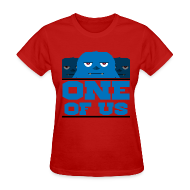 T-Shirts ~ Women's T-Shirt ~ One Of Us Monsters