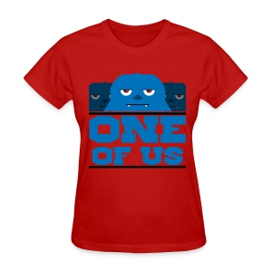 One Of Us Monsters - Women's T-Shirt