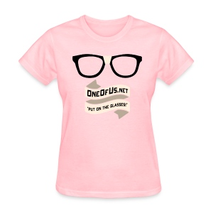 One Of Us Put On The Glasses - Women's T-Shirt