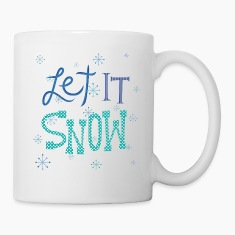 Let It Snow Bottles & Mugs