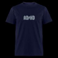 T-Shirts ~ Men's T-Shirt ~ ADHD ACDC Logo - Men's T-shirt