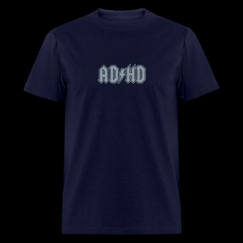 Funny ADHD AC/DC Logo - Men's T-Shirt