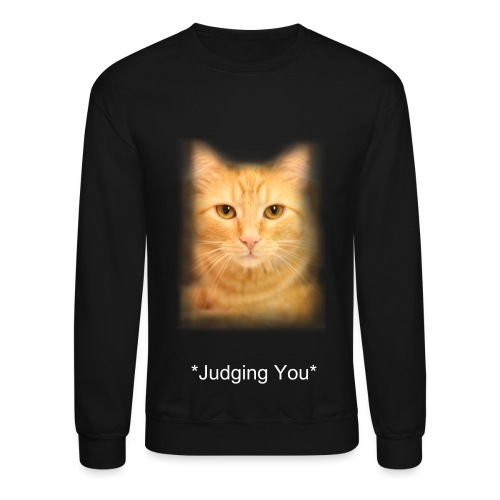 Judgemental Cat - Crewneck Sweatshirt