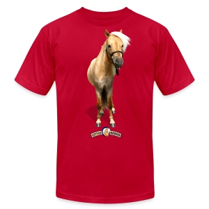 Puck of Little Hooves - Men's Fine Jersey T-Shirt