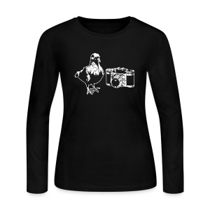 Pigeon Camera Long Sleeve (W) - Women's Long Sleeve Jersey T-Shirt