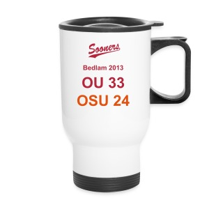 Sooners Bedlam 2013 Travel Mug - Travel Mug