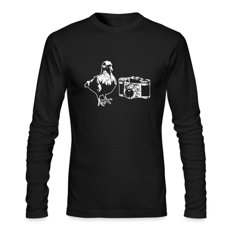 Pigeon Camera Long-Sleeve Tee - Men's Long Sleeve T-Shirt by Next Level