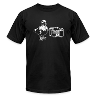 T-Shirts ~ Men's T-Shirt by American Apparel ~ 'Pigeon Camera' Tee