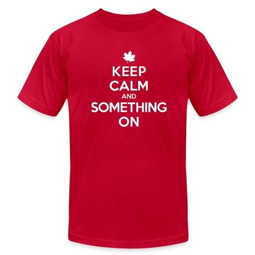 'Something On' Tee - Men's Fine Jersey T-Shirt