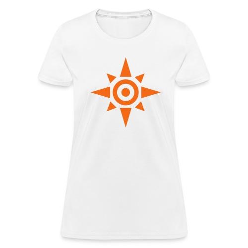 Womens-Crest of courage - Women's T-Shirt