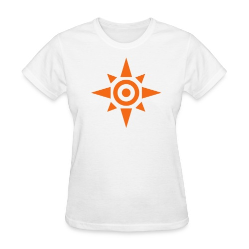 Womens-Crest of courage - Women's T-Shirt