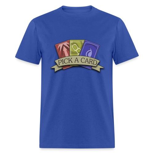 Mens-Pick a Card - Men's T-Shirt