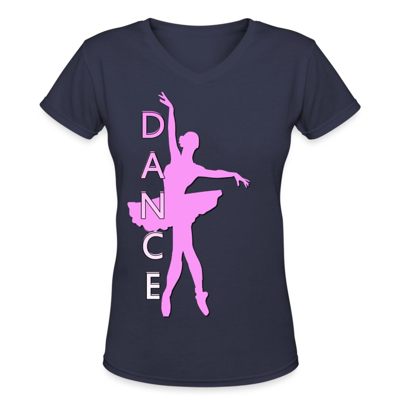 Dance t shirt spreadshirt for Ballet neck tee shirts