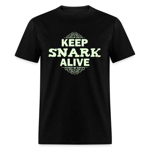 Keep Snark Alive - glow - Men's T-Shirt
