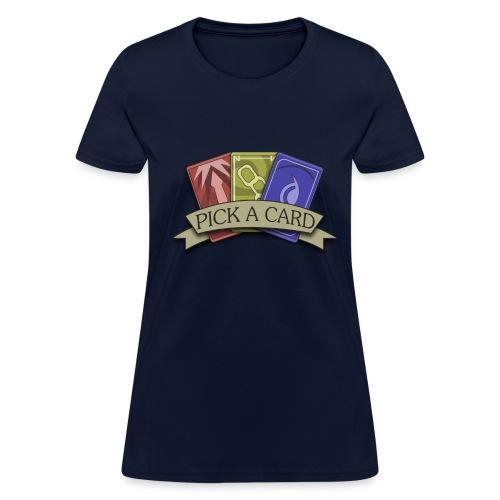 Womens-Pick a Card - Women's T-Shirt