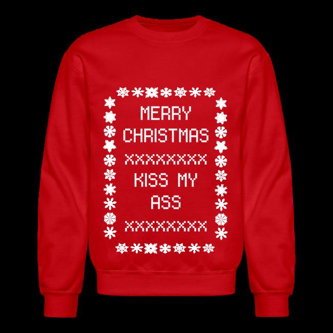 Kiss My Ass Christmas Sweater