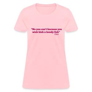 Bondy_tsq - Women's T-Shirt