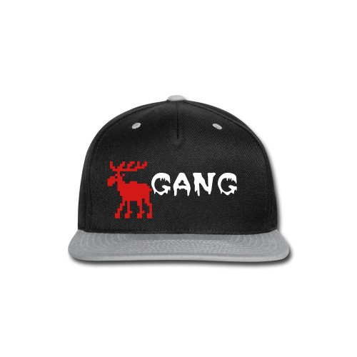 Moose Gang - Snap-back Baseball Cap
