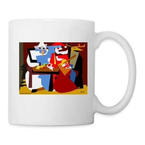Picasso Christmas Mug - Coffee/Tea Mug