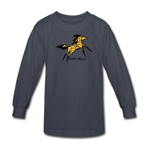 Wild Sunshine Pony - Kids' Long Sleeve T-Shirt