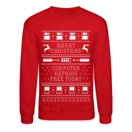 Melinda's Ugly Christmas Sweater - Crewneck Sweatshirt