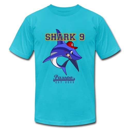 Passpo Shark Gold - Men's Fine Jersey T-Shirt