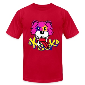 KGSK Pink - Men's T-Shirt by American Apparel