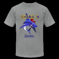 T-Shirts ~ Men's T-Shirt by American Apparel ~ Passpo Shark Slate