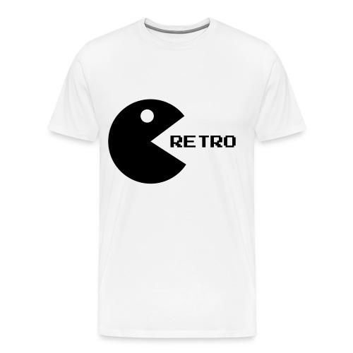 Retro Pacman Tee - Men's Premium T-Shirt