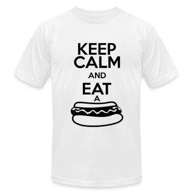 KEEP CALM AND EAT A HOT DOG T-Shirts